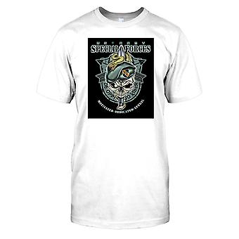 Mens t-shirt DTG tryck - Special Forces - De Oppresso Liber-
