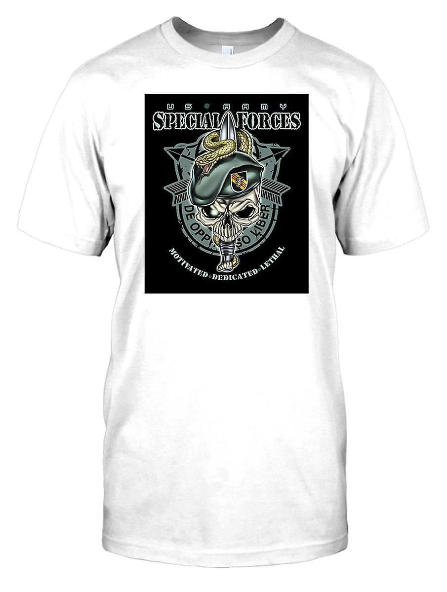 Bambini t-shirt stampa DTG - Special Forces - De Oppresso Liber-