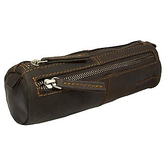 Greenland West Coast leather pencil case