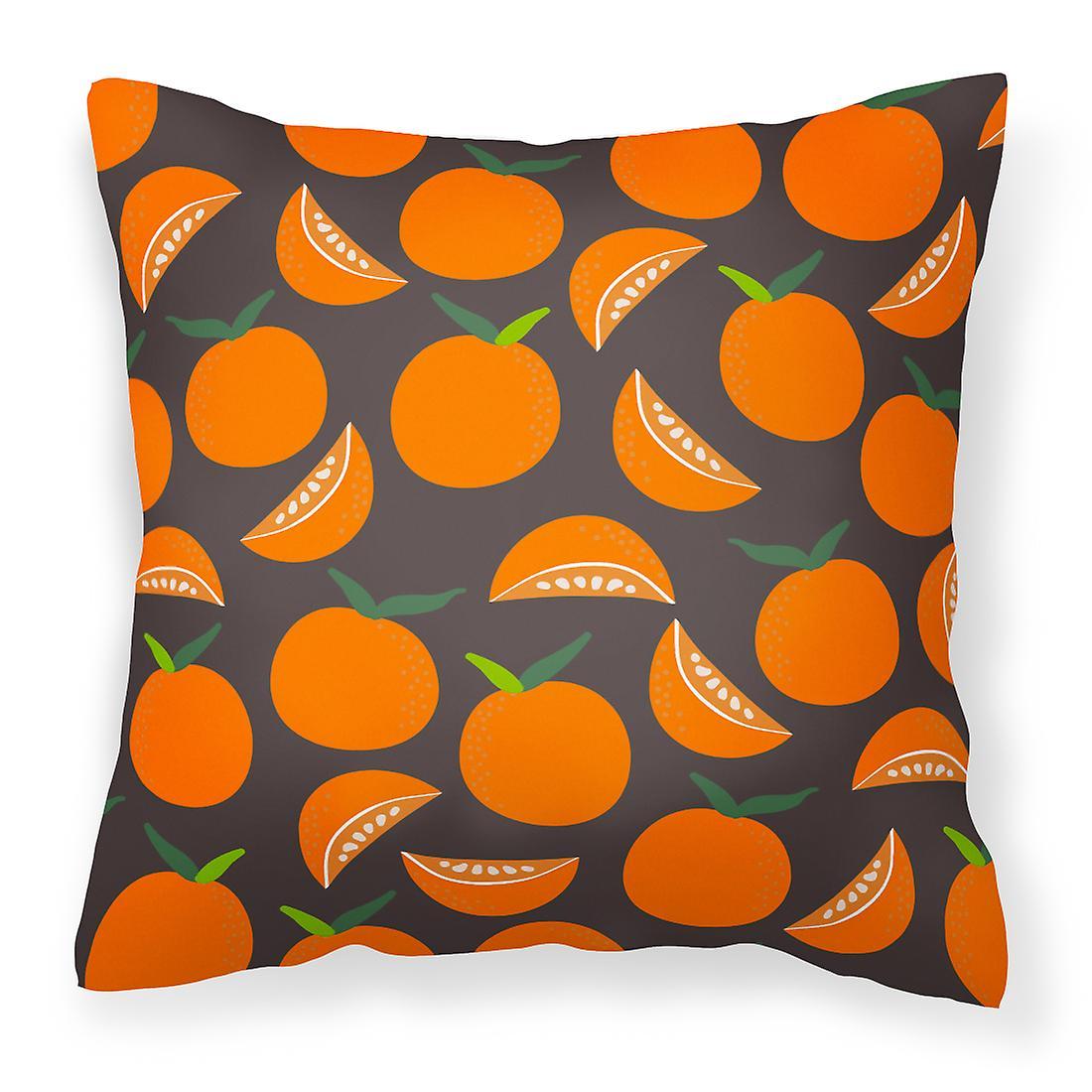 Carolines Gris Trésors Bb5142pw1414 Oranges Décoratif Tissu Sur Oreiller rdxBsQhCto