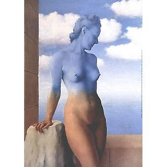 La Magie Noire Poster Print de René Magritte (20 x 28)