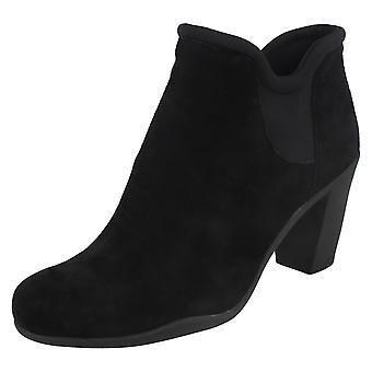 Damen Clarks Heel Ankle Boots Adya Bella