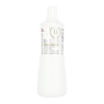 Wella Blondor Freelights Oxidant Developer 6% 20 Volume 1000ml