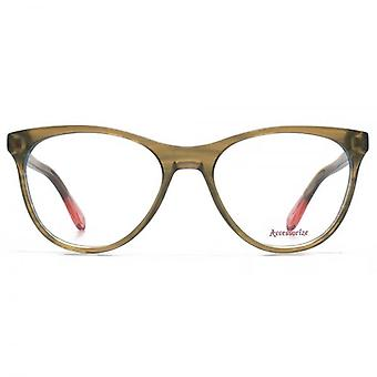 Accessorize Glam Cateye Glasses In Brown