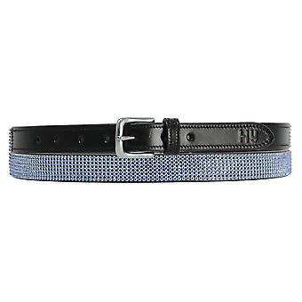 Hy Sparkle Leather Belt