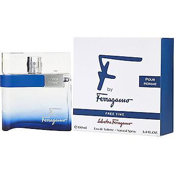F By Ferragamo Free Time By Salvatore Ferragamo Edt Spray 3.4 Oz