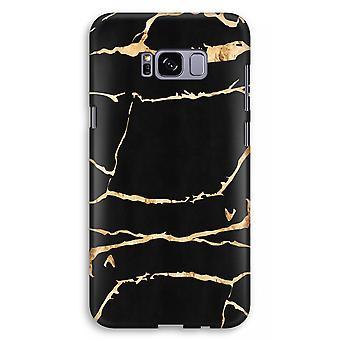Samsung Galaxy S8 Plus Print caja completa (brillante) - mármol del oro