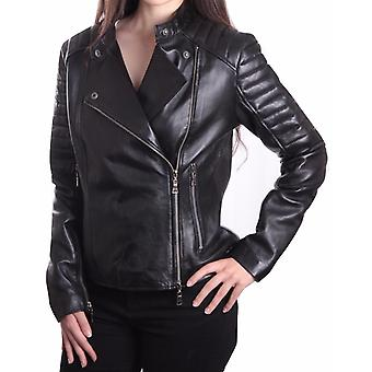 Ladies Bella Black Carla Leather Jacket