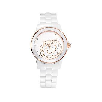 Ceramic white watch