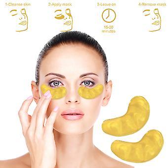 Black Forest Spa 10x Collagen Eye Mask Anti Wrinkle Ageing Patch Pad Moisturiser