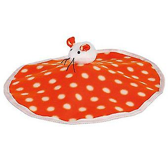 Trixie Rustling Mat With Plush Mouse, Fleece (Cats , Toys , Movement)