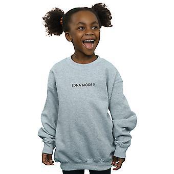 Disney Mädchen das Incredibles 2 Edna Mode Sweatshirt