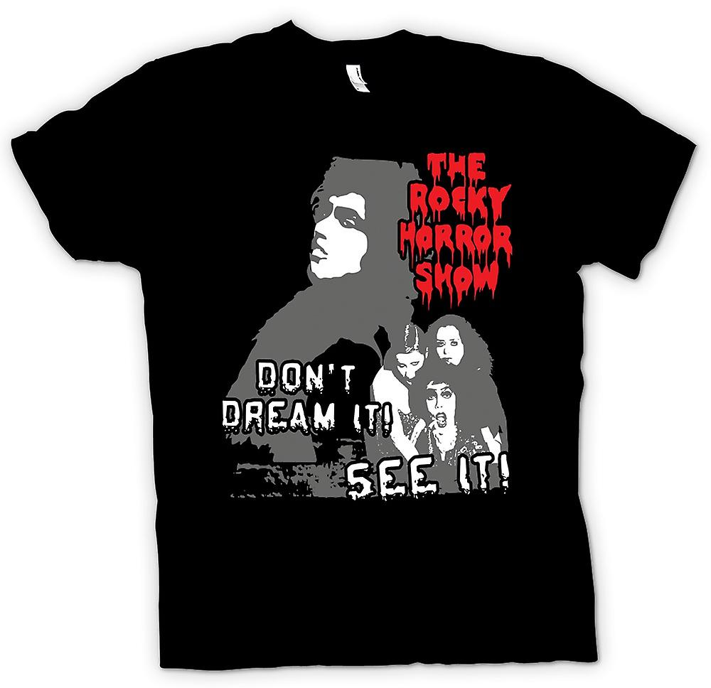 Mens T-shirt - Rocky Horror Don't Dream - Funny