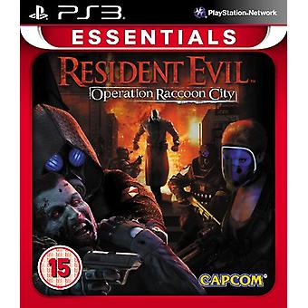 Resident Evil-Operation Raccoon City PlayStation 3 Essentials (PS3)