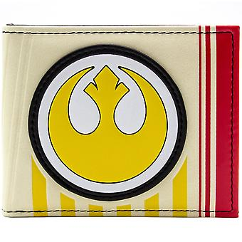 Star Wars Rebel Symbol Creme ID & Karte Bi-Fold Geldbörse