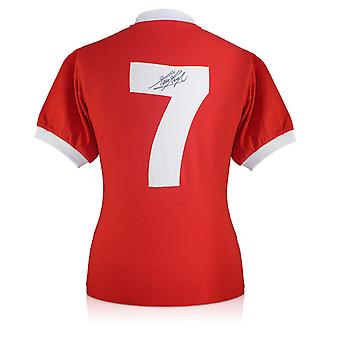 Kevin Keegan Signed Liverpool 1973 Number Seven Football Shirt