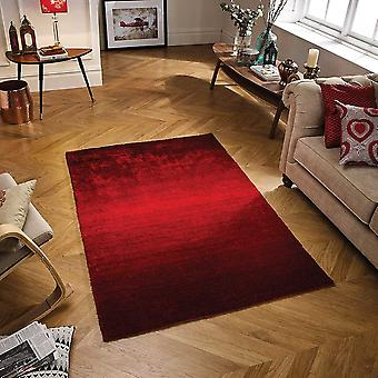Rio Weavers Red  Rectangle Rugs Plain/Nearly Plain Rugs