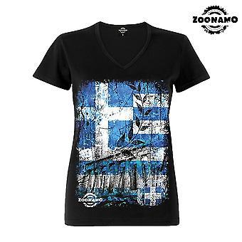Zoonamo T-Shirt ladies classic Greece