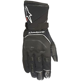 Alpinestars Black Andes Touring Outdry Motorcycle Leather Gloves