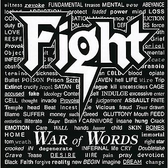 Fight - War of Words [CD] USA import