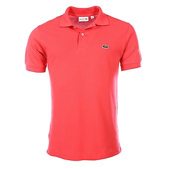 Short sleeves polo Pink L1212 Lacoste Man