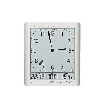 digital wall clock radio AMS - 5898