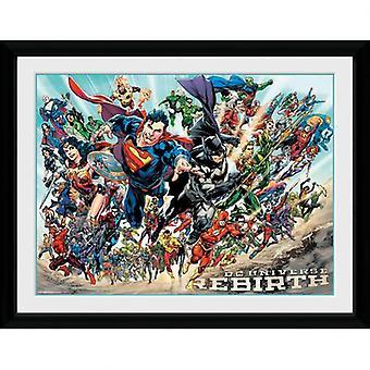 DC Universe Bild Wiedergeburt 16 x 12