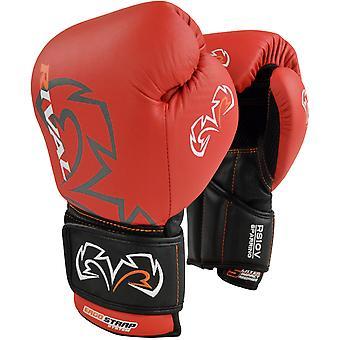 Optima rivale boxe Sparring guanti - rosso