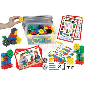 Morphun Gearphun Starter Building Bricks Set (400 Pieces) Educational, Learn