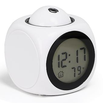 PROJECTOR CLOCK WHITE