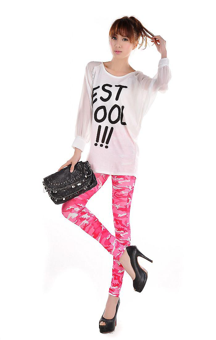 Waooh - Fashion - Pattern Camouflage Legging Flashy Andromeda