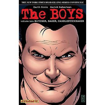 The Boys - Volume 10 - Butcher - Baker - Candlestickmaker by Garth Enni