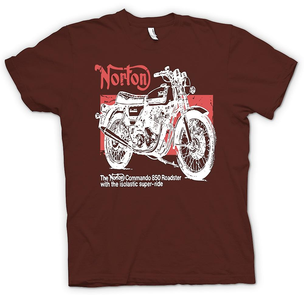 Hommes T-shirt - Norton Commando 850 Roadster