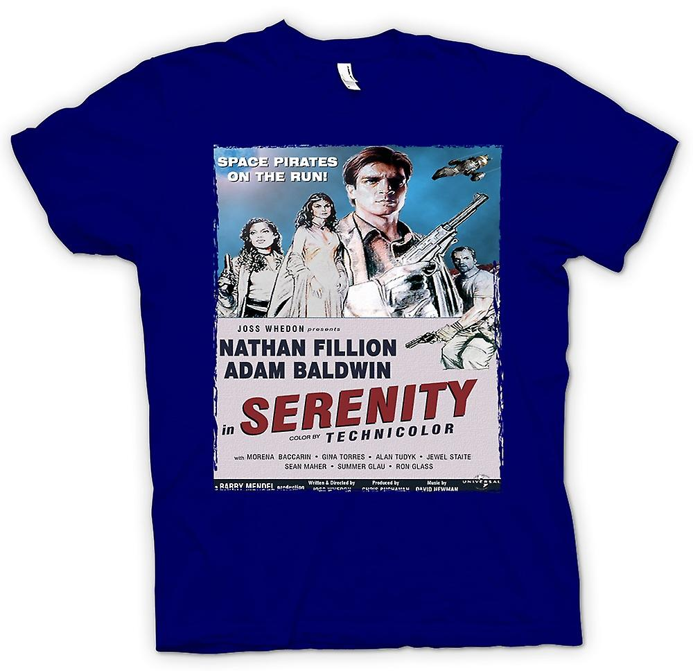 Mens T-shirt - Serenity Space Western - B Movie