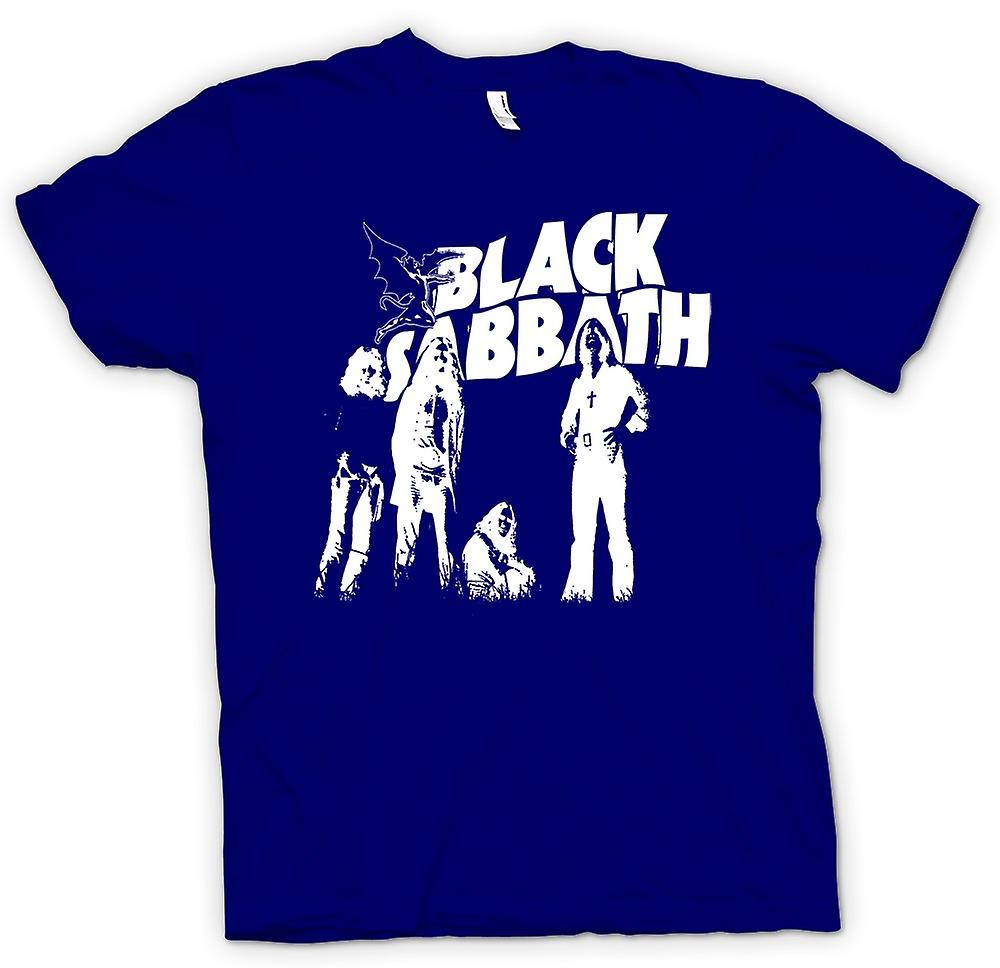 Mens T-shirt - Sabbat - métal Devil