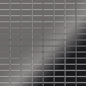 Mozaïek van massief metaal Titaan ALLOY Bauhaus-Ti-SM