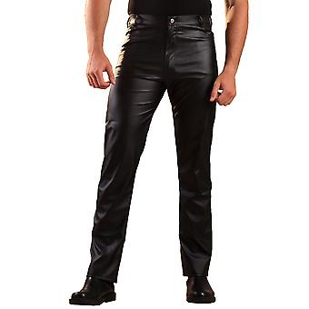 Honour Men's Cut Jeans Classic Style in Leatherette Front & Back Pockets