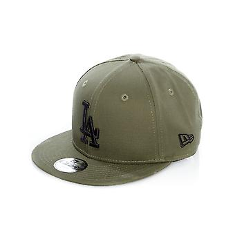 New Era New Olive-Black League Essential 9Fifty Los Angeles Dodgers Kids Snapbac