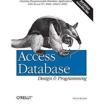 Design de banco de dados de acesso e programação (Nutshell manuais)
