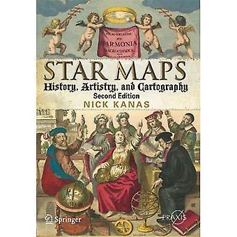 Stjerne kort: Historie, artisteri og kartografi