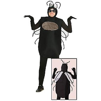Mens Fly Insect Fancy Dress Costume Large