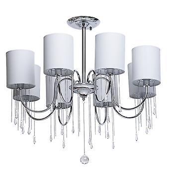 Glasberg - Chrome huit léger semi-affleuré avec nuances de gris et de cristaux 379018608