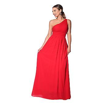 KRISP kvinner Maxi kjole formell lang damer kappe chiffon kveld bryllupsfesten størrelse 8-27