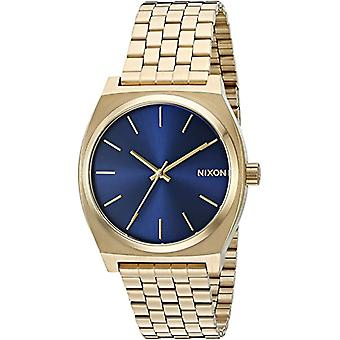 Nixon analog quartz watch with stainless steel bracelet _ A045-1931 _ Gold tone