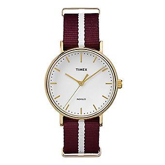 Timex Orologio Analogico Classico Quarzo Donna con Cinturino in Nylon TW2P98100