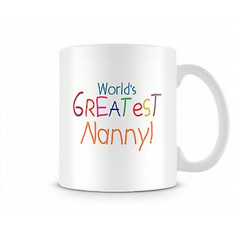 Worlds Tasse de Nanny Greatest