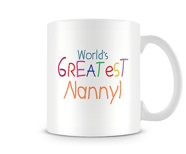 Worlds Greatest Nanny Mug