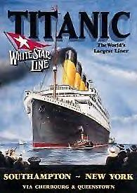 Titanic White Star Metal Sign