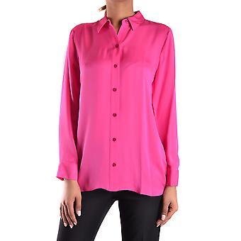 Michael Kors Fuchsia Silk Shirt