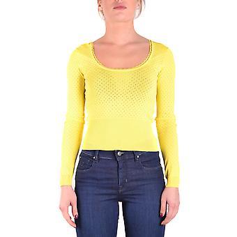 Liu Jo Yellow Viscose Sweater